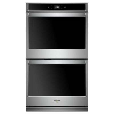 27 in. Double Electric Wall Oven in Stainless Steel