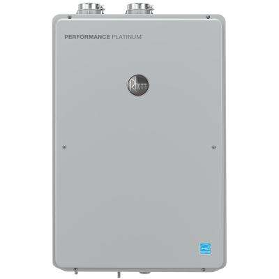 Performance Platinum 9.0 GPM Liquid Propane High Efficiency Indoor Tankless Water Heater