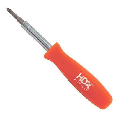 3-1/4 in. 6-in-1 Screwdriver