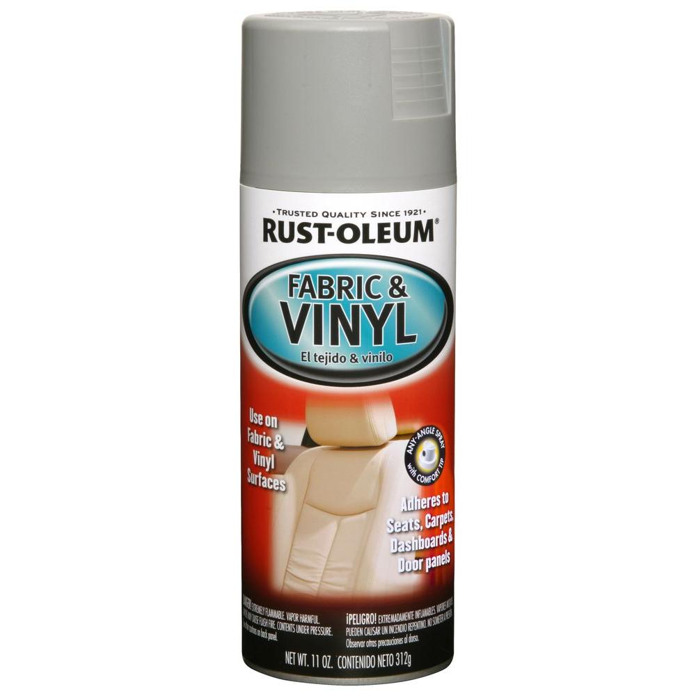 Rust-Oleum Automotive 11 oz. Gray Vinyl and Fabric Spray ...