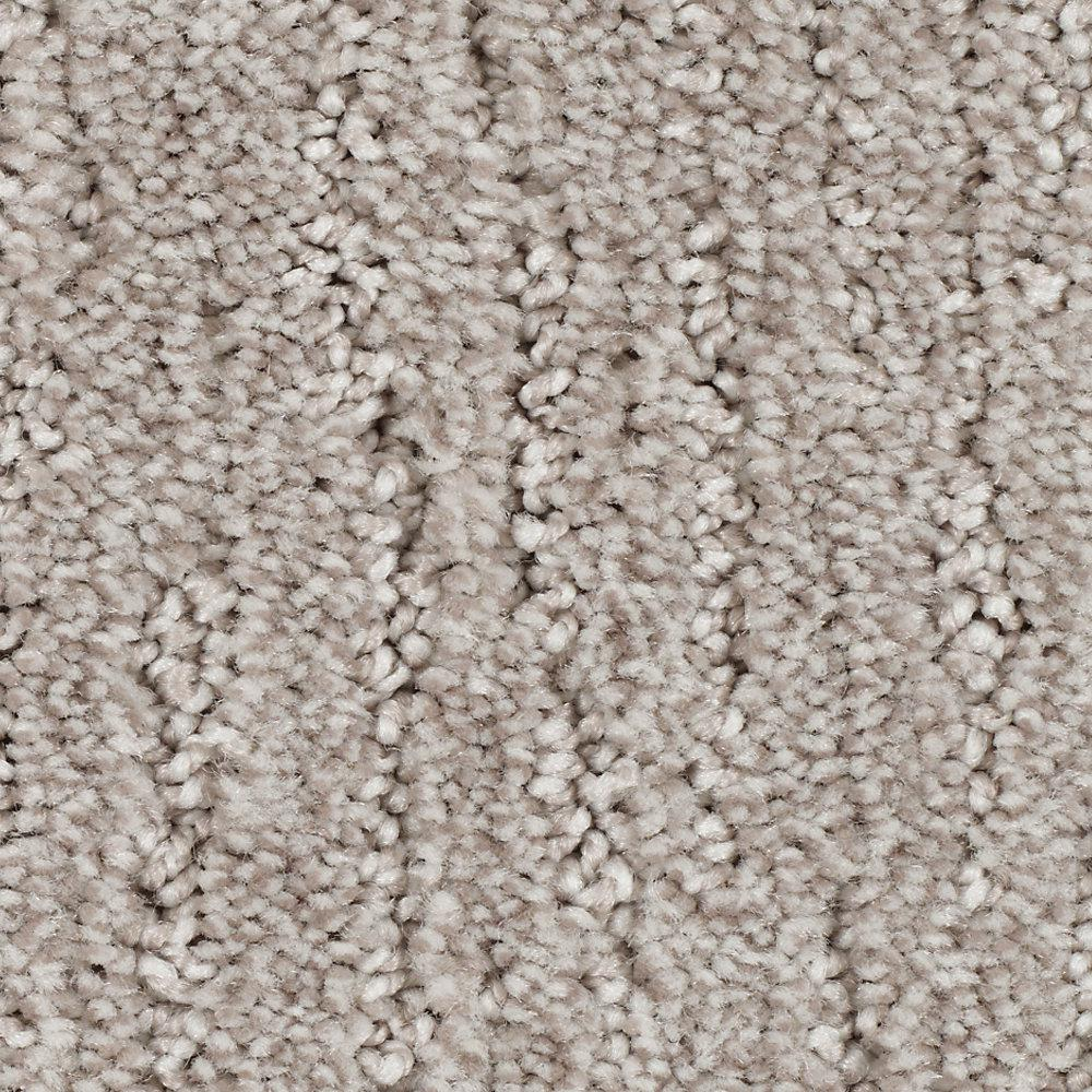 Carpet Sample - Chester - Color Gentle Doe Textured 8 in.