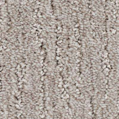 Carpet Sample - Chester - Color Gentle Doe Textured 8 in. x 8 in.