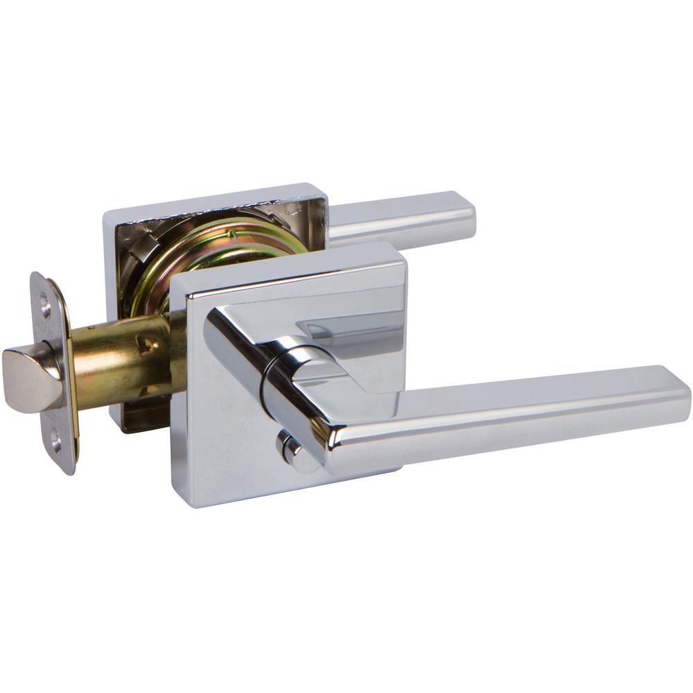 Delaney Hardware D54526 VL Privacy Lever Chrome deadbolt Lock