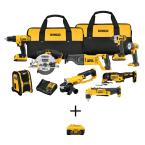 20-Volt MAX Lithium-Ion Cordless Combo Kit (9-Tool) with 20-Volt MAX XR Premium Battery Pack 6.0Ah