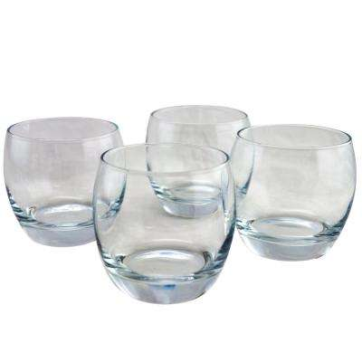 Monte Carlo 11.5 oz. Double Old Fashioned Glass Set (4-Pack)
