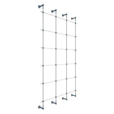 96 in. Wire Rope Plant Trellis System