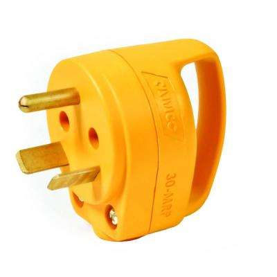 30 Amp PowerGrip Replacement Male Plug