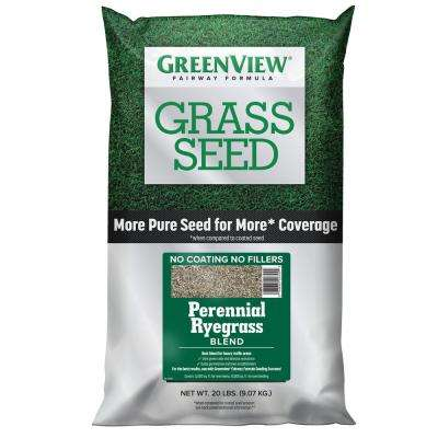 20 lbs. Fairway Formula Grass Seed Perennial Ryegrass Blend