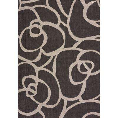Veranda Silver 3 ft. x 4 ft. Indoor/Outdoor Area Rug