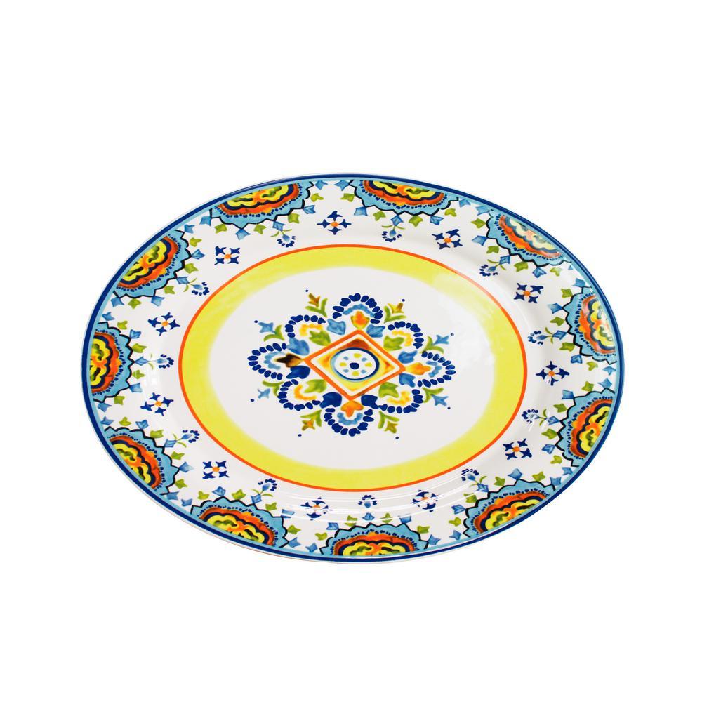 Mumbai Oval Platter