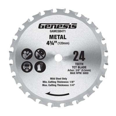 4-3/4 in. Metal Cutting Saw Blade