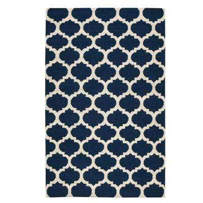Allure Navy 9 ft. x 13 ft. Area Rug