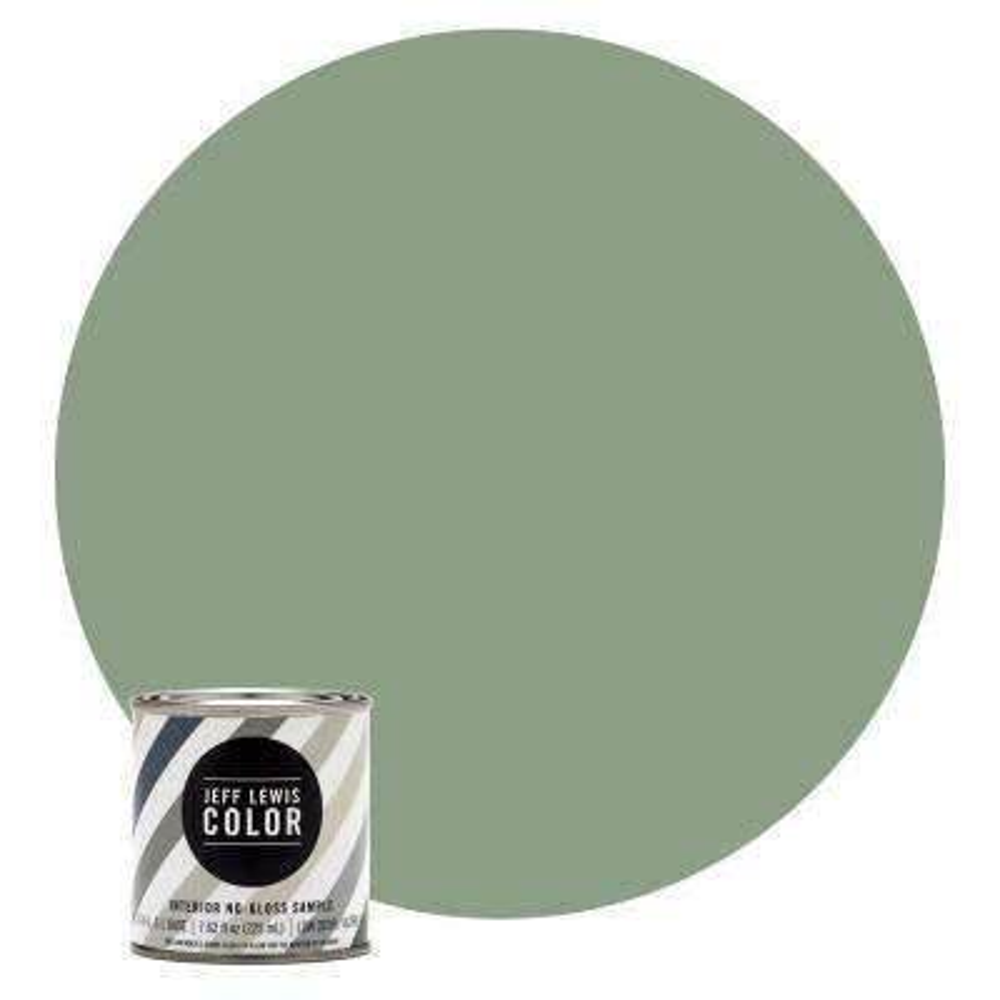 8 oz. #JLC510 Dirty Martini No-Gloss Ultra-Low VOC Interior Paint Sample