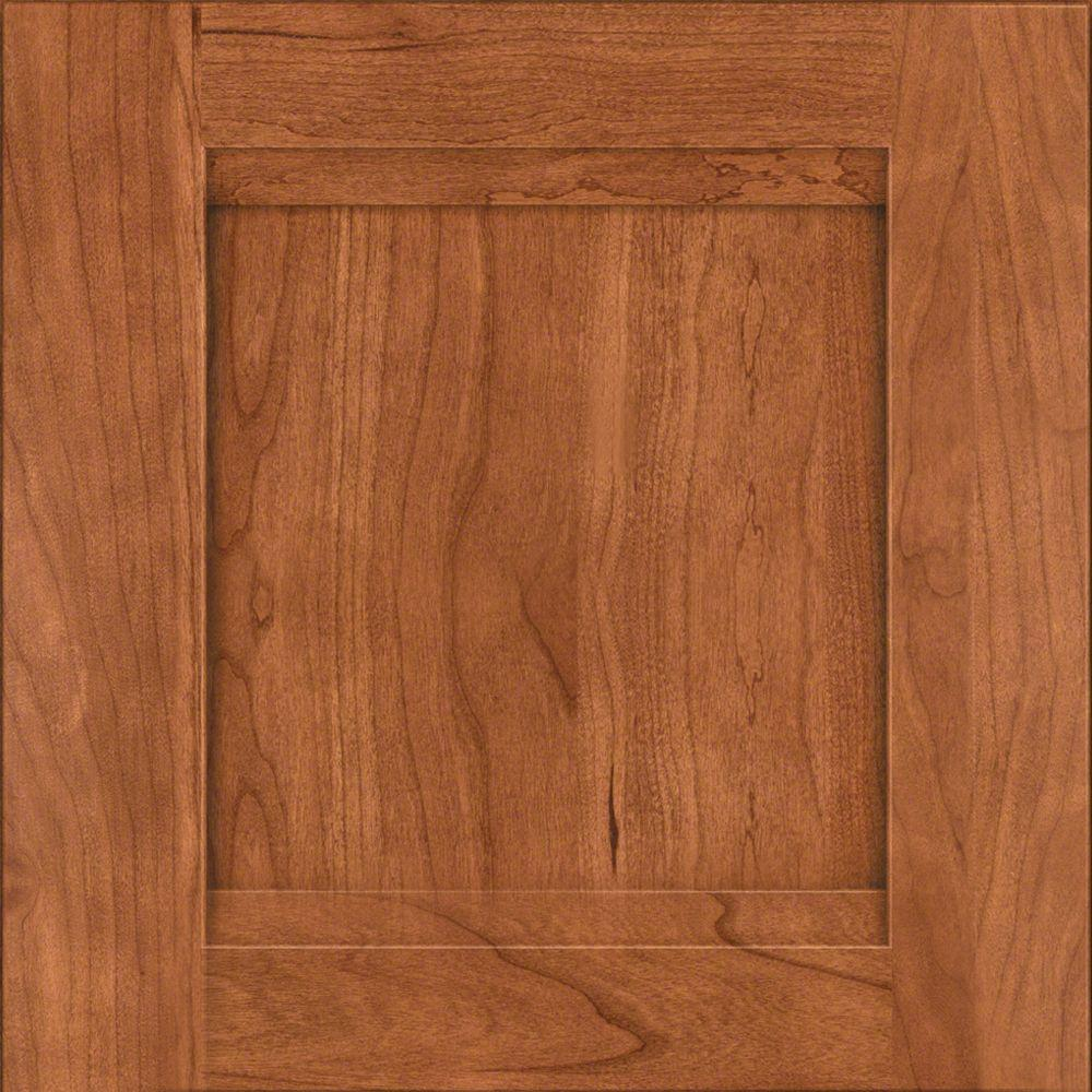 Cabinet Door Sample In Sonora Cherry In Cinnamon