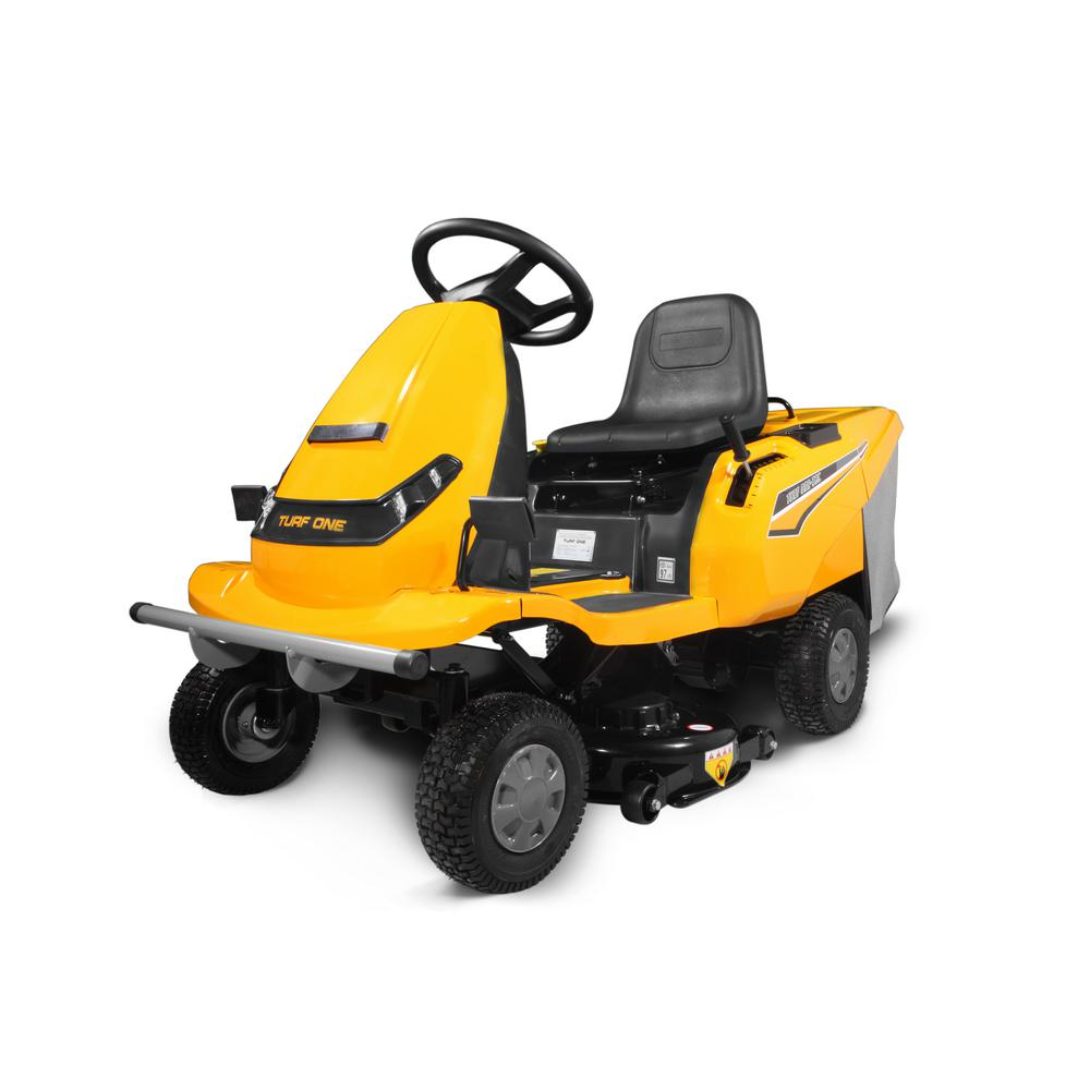 VOLT 32C 32in Lithiuim-Ion Powered Battery Rear Engine Riding Mower with Built-In Collection System