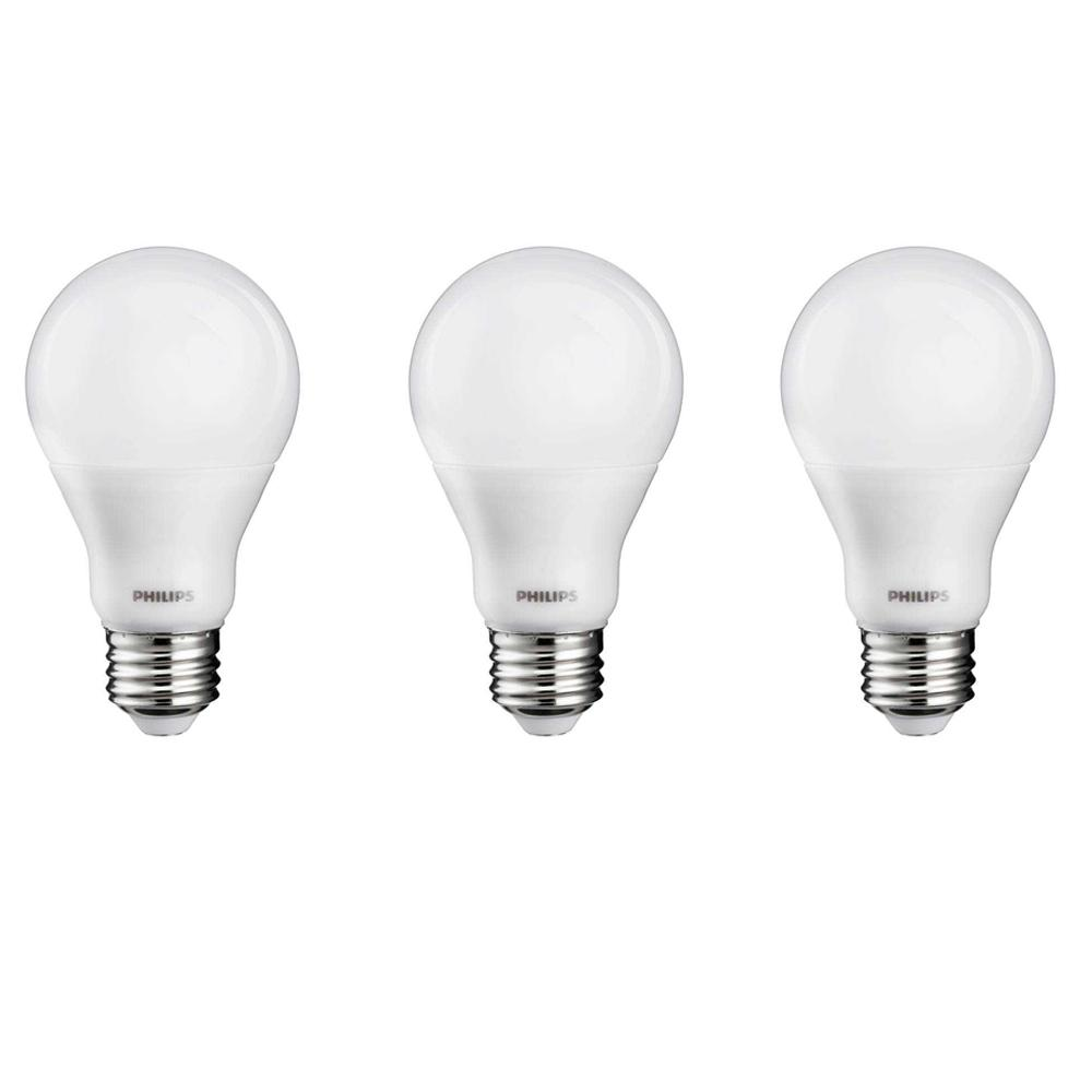 philips 60 watt equivalent cri90 a19 dimmable led light bulb soft
