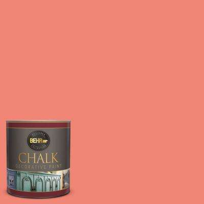 1-qt. #BCP03 Salmon Coral Interior Chalk Finish Paint