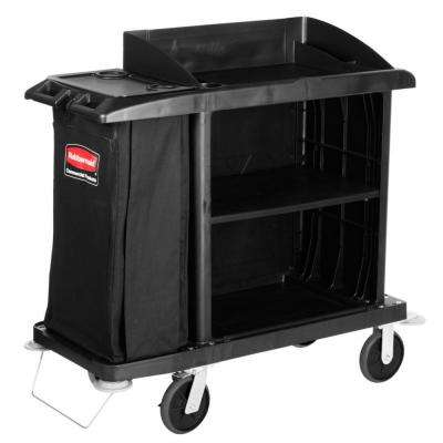 Rubbermaid Commercial Products Compact Housekeeping Cart by Rubbermaid Commercial Products