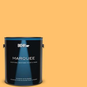 Behr Marquee 1 Gal P250 5 Solar Storm Satin Enamel Exterior Paint Primer 945401 The Home Depot