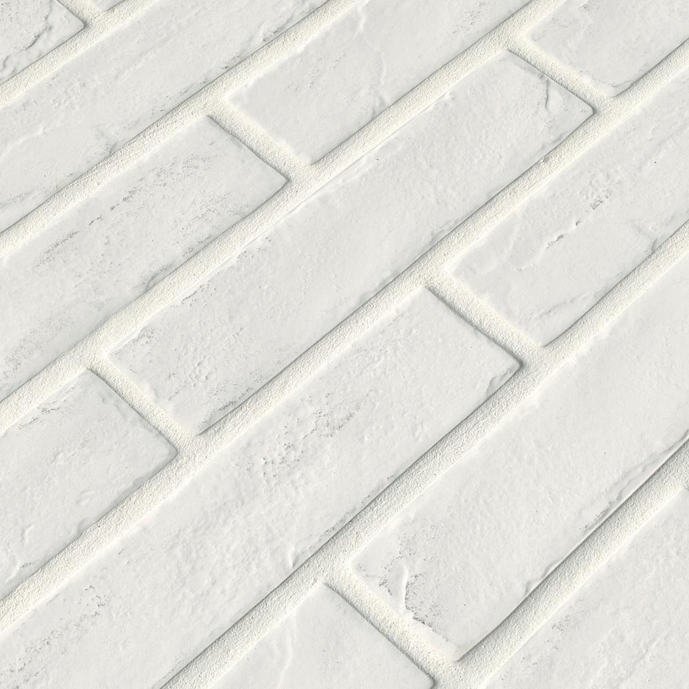 Msi Capella White Brick 2 1 3 In X 10