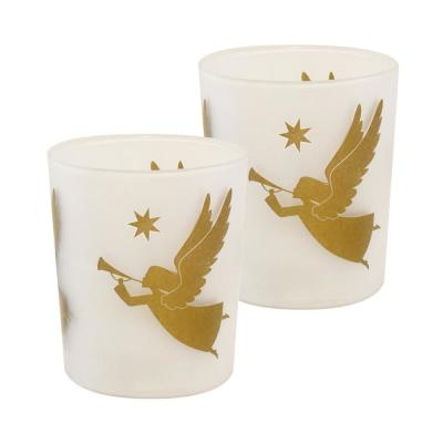 Gold Angels Battery Operated LED Candles (2-Count)