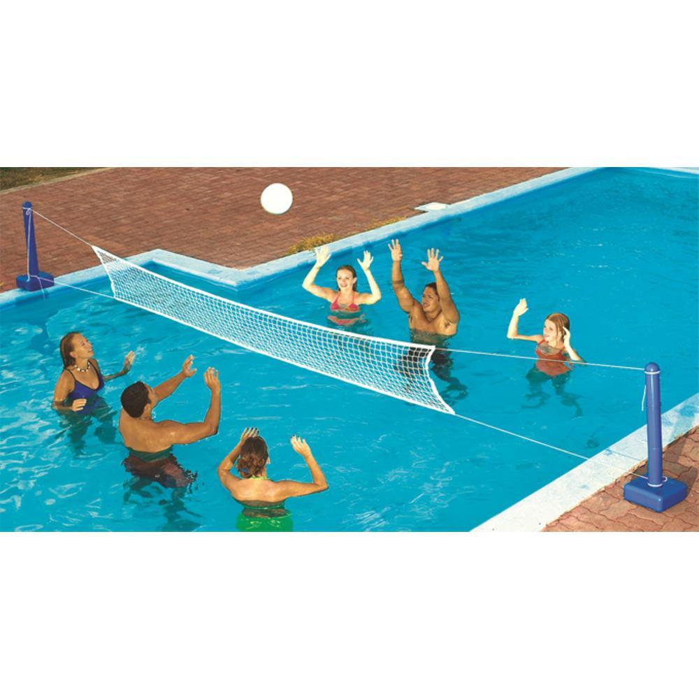 SWIMLINE Cross Inground Swimming Pool Fun Volleyball Net Game Water Sets  (2-Pack)