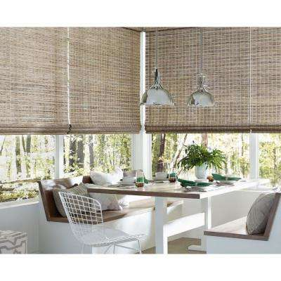 Installed Woven Woods