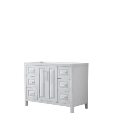 Daria 47 in. Single Bathroom Vanity Cabinet Only in White