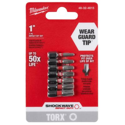 Shockwave Impact Duty Torx Bit Set (7-Piece)