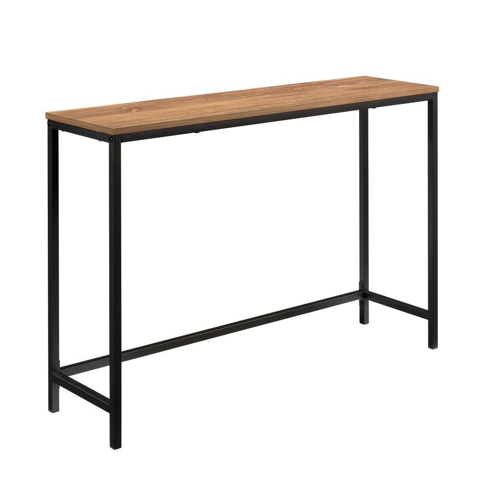 North Avenue 41.496 in. Sindoori Mango Rectangle Engineered Wood Sofa Table
