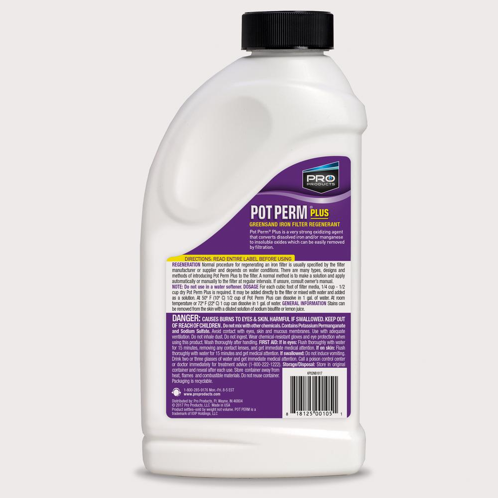 Pro Products KP02N Pot Perm Plus Greensand Iron Filter Regenerant by Pro Products