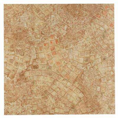 Tivoli Beige 12 in. x 12 in. Peel and Stick Ancient Mosaic Vinyl Tile (45 sq. ft. / case)