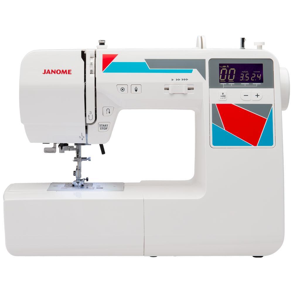 Janome MOD-100 Computerized Sewing Machine with 100-Stitches 00181100DC