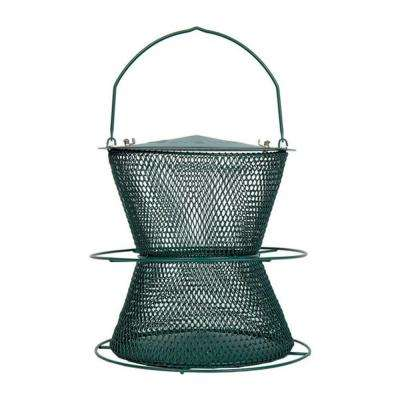 Forest Green Hourglass Bird Feeder