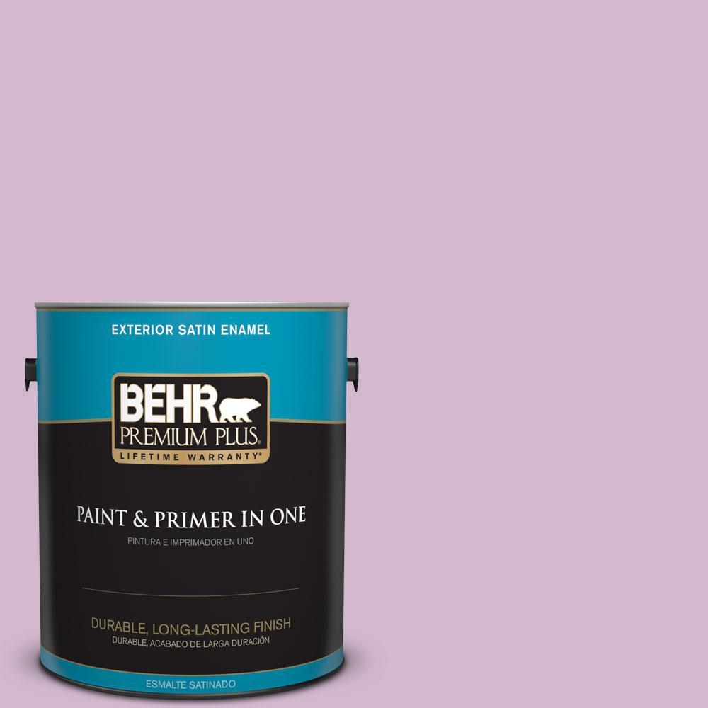 1-gal. #M110-3 Bedazzled Satin Enamel Exterior Paint