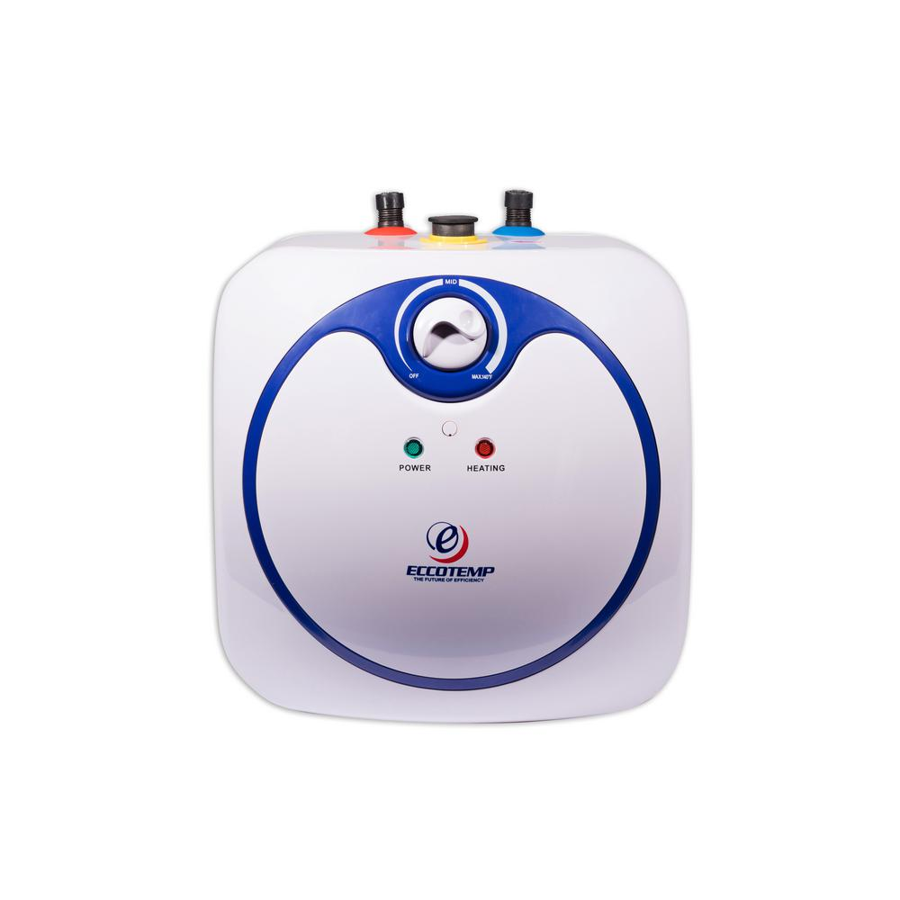 electric hot water heater mini tank 2 5 gal point of use instant on demand new ebay. Black Bedroom Furniture Sets. Home Design Ideas