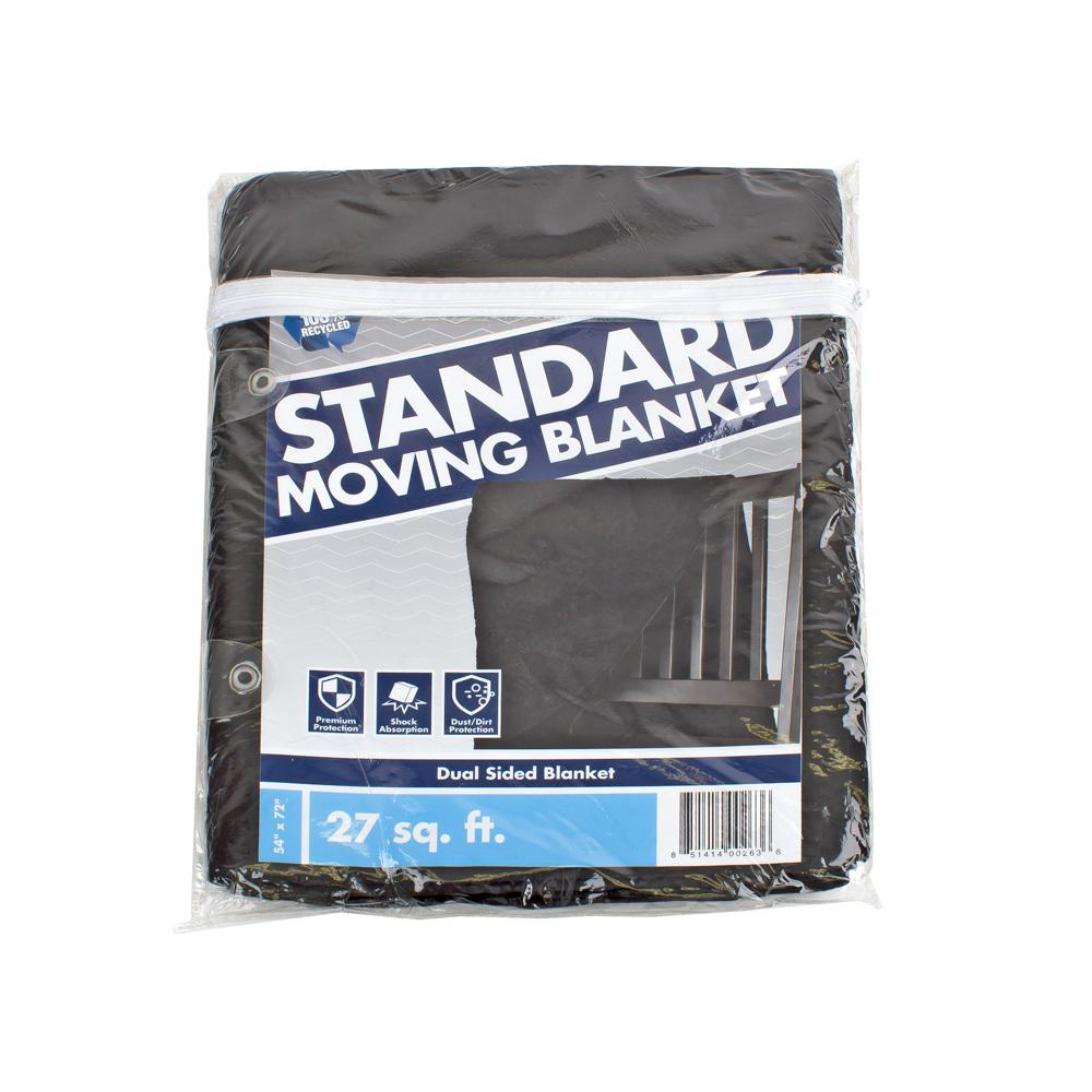 Pratt Retail Specialties 72 in. W x 54 in. L Standard Moving Blanket