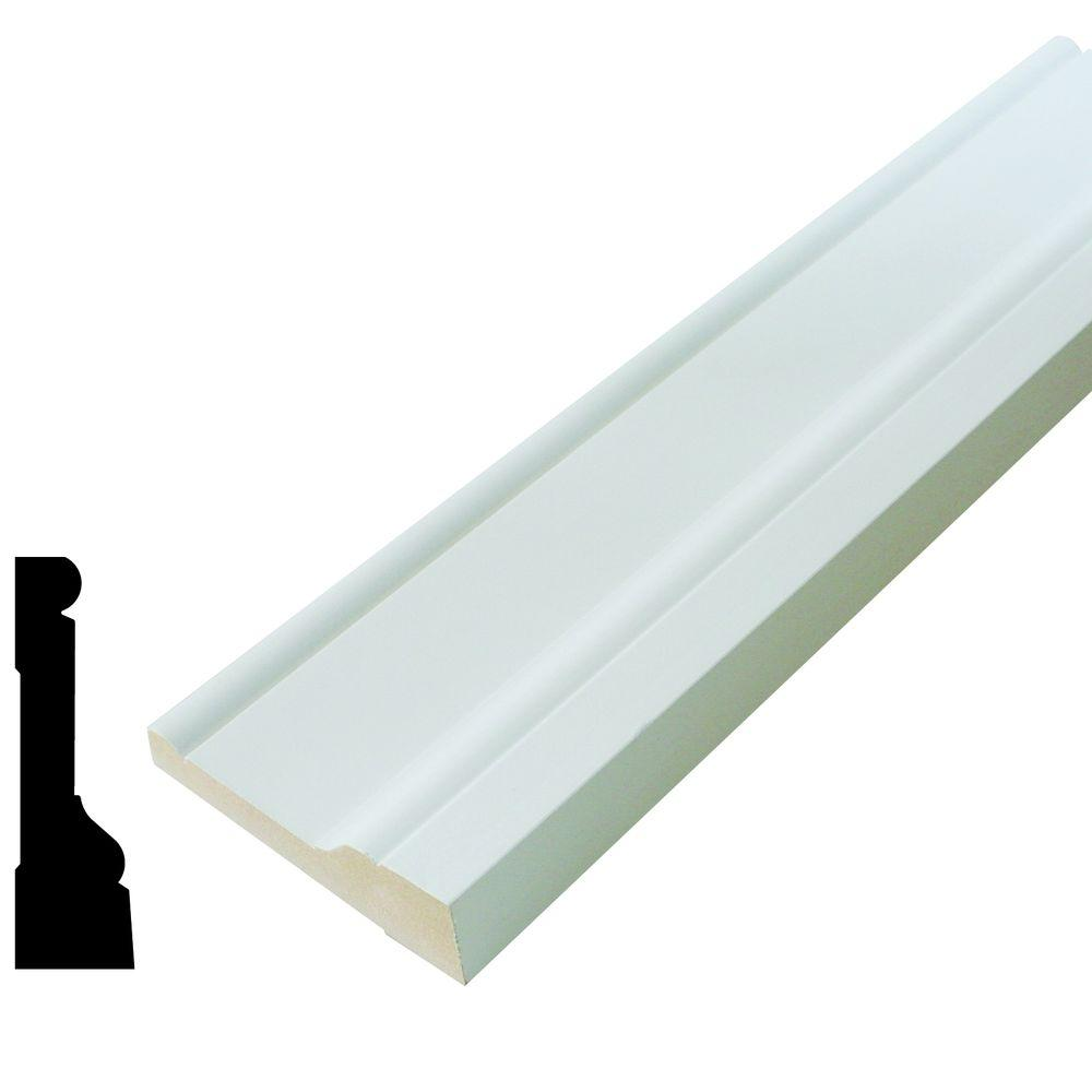 Alexandria moulding amh 97 1 1 16 in 3 1 2 in x 96 in for 1 x 3 window
