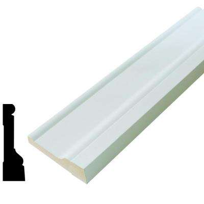 AMH 97 1-1/16 in. 3-1/2 in. x 96 in. Pine Primed Finger-Joint Casing