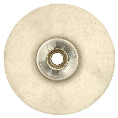 1 in. EZ Lock Cloth Polishing Wheel for Silverware, Car Parts, and Door and Window Hardware