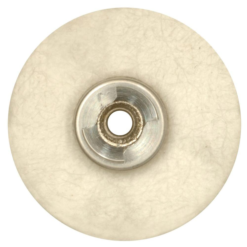 Dremel 1 in. EZ Lock Cloth Polishing Wheel for Silverware, Car Parts, and Door and Window Hardware