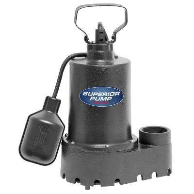 92331 1/3 HP Submersible Cast Iron Sump Pump