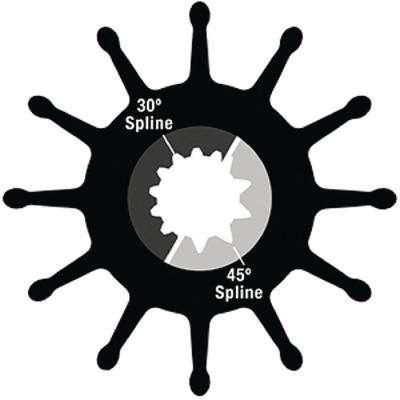 3-3/4 in. Dia Impeller Kit with O-Ring