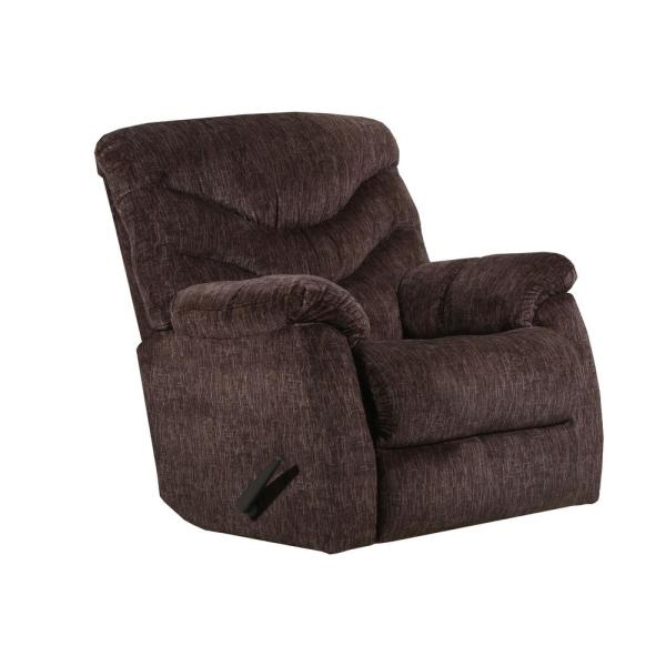 Lane Alecio Chocolate Rocker Recliner 4219-19 Alecio Chocolate