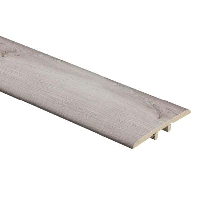 Coastal Oak/Silver Sycamore 5/16 in. Thick x 1-3/4 in. Wide x 72 in. Length Vinyl T-Molding