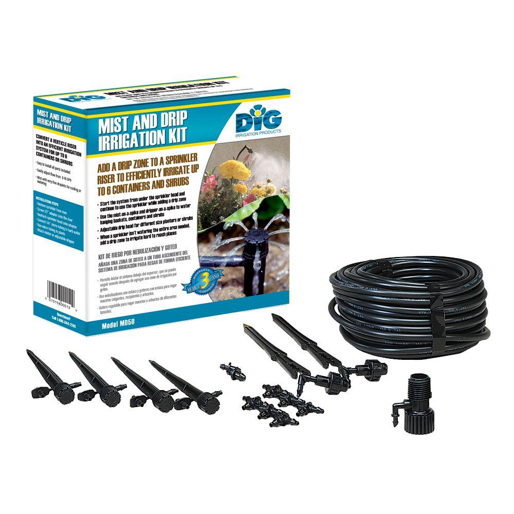 Mist and Drip Irrigation Kit