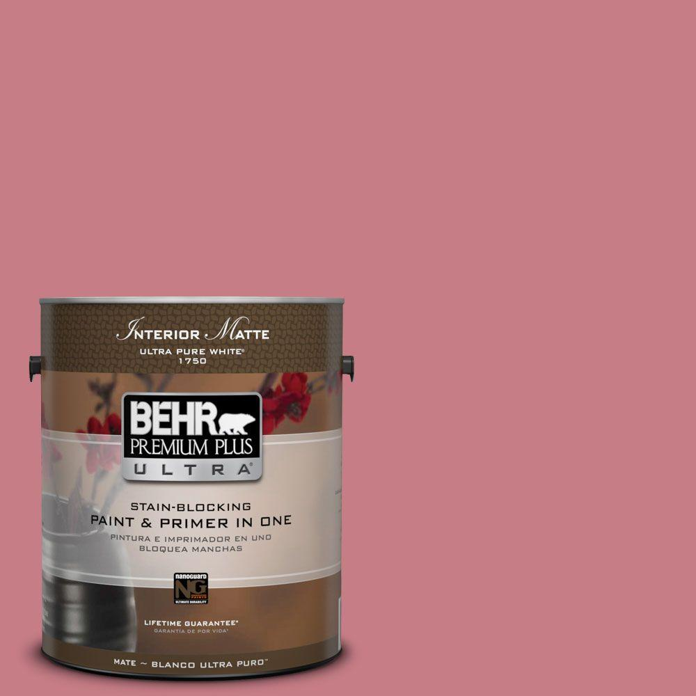 BEHR Premium Plus Ultra 1 gal. #M150-5 Enamored Matte Interior Paint