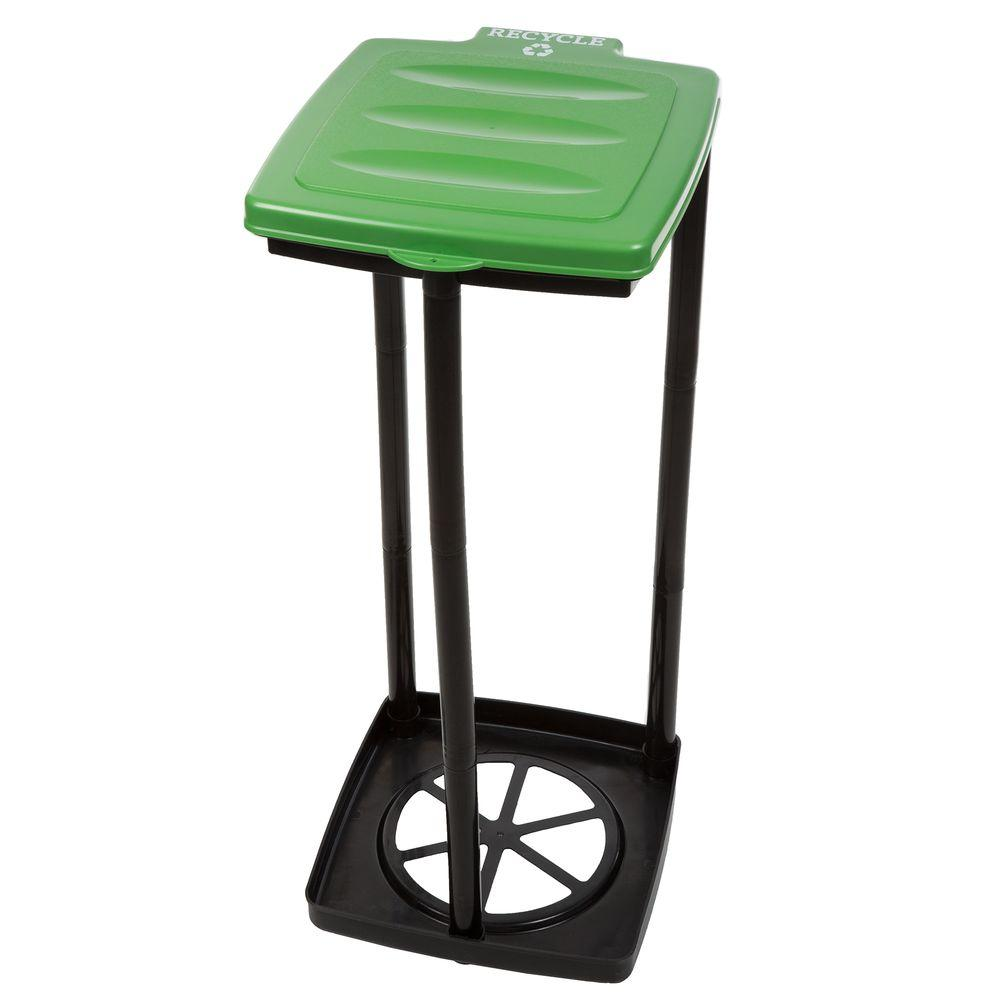Green Portable Garbage Trash Bag Holder