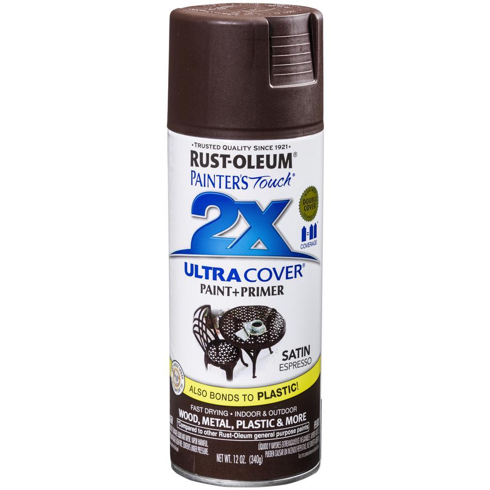 12 oz. Satin Espresso General Purpose Spray Paint