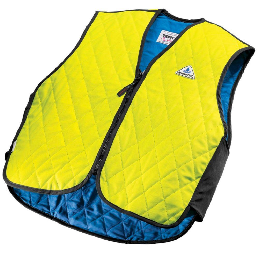 Lsocmose Cooling Vest Fan Air Conditioned Clothes for High Temp Worker Unisex